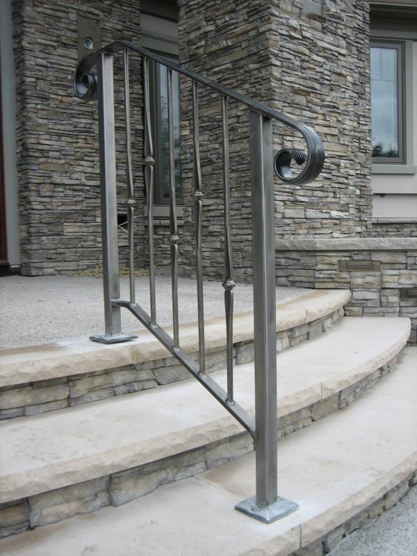 Steel Railings - Old Dutchman's Wrought Iron, Inc