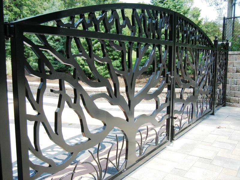 Sliding Gate Fence