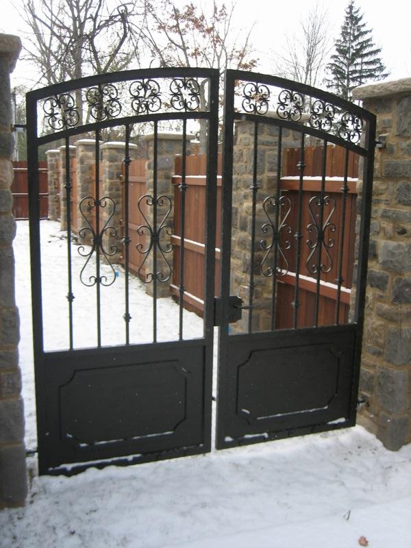 Walk Gates Old Dutchman S Wrought Iron Inc